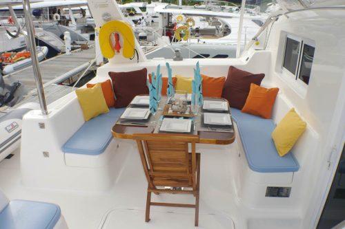 Come aboard BVI Yacht Charter Nutmeg