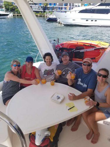 Come aboard BVI Yacht Charter Salty Girl