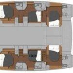 Yacht Layout of British Virgin Islands Charter Blue Pepper