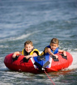 All sailing yachts have water toys for all the family