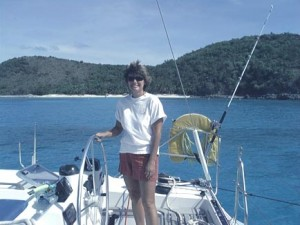 BVI Broker Kathy Corbett was co-owner and first mate of a 48 ft. crewed charter yacht