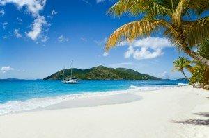 beautiful island in the Caribbean