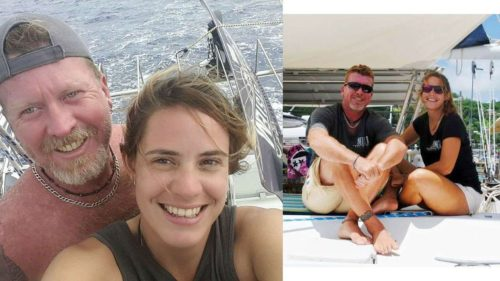Captain and Crew of Belline II, a 48 ft Privilege Caribbean Yacht Charter