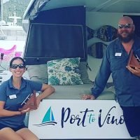 Winners of the Best Multihull Over 56' Category at the BVI Charter Yacht Show 2019 Port to Vino