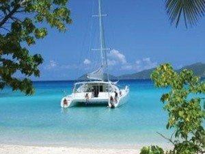 Come aboard BVI Yacht Charter Braveheart 58 ft Catamaran