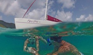 Come aboard BVI Yacht Charter Flying Ginny VII