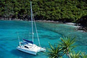 Come aboard BVI Yacht Charter Jet Stream 45 ft Catamaran