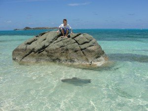clear waters of BVI