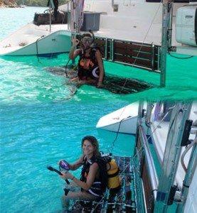 Come aboard BVI Yacht Charter EXTASEA2 46 ft Catamaran
