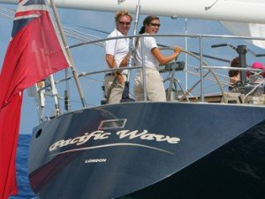 Captain and Crew of Pacific Wave 72 ft Sailing Yacht, a 72 ft  Caribbean Yacht Charter