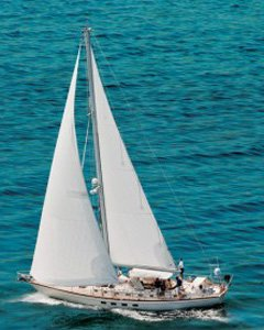 sailboat for charter in BVI and Caribbean