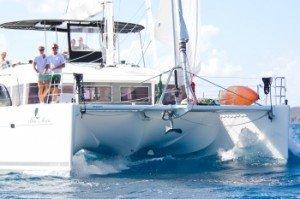 BVI Catamaran Blue Moon - Bow