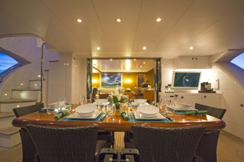 Sea Boss dining deck