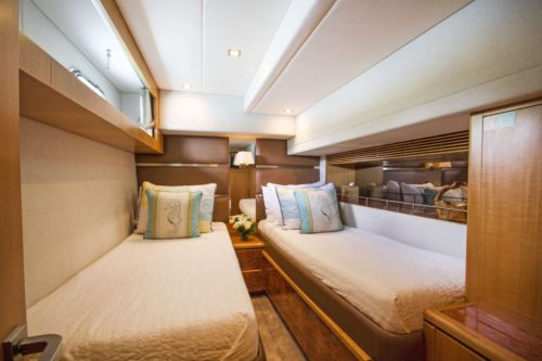 Sea Boss twin cabin
