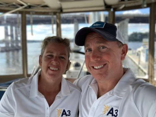 Captain and Crew of A3 –  56 ft Catamaran, a 56 ft Lagoon Caribbean Yacht Charter