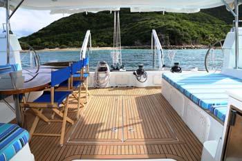 Fuerte 3 spacious deck