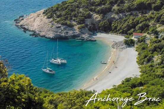 Croatia Anchorage Brac
