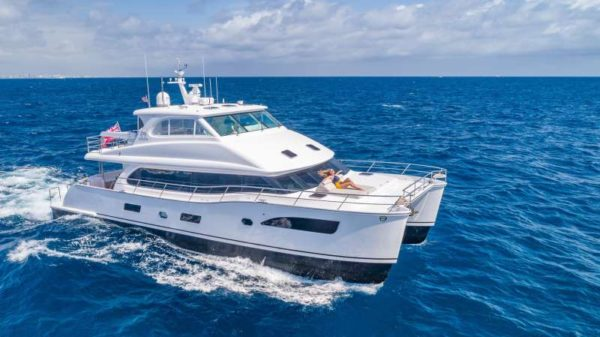 power cat for charter in BVI and Caribbean