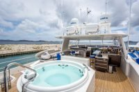 Come aboard BVI Yacht Charter Angeleyes 85ft Motor Yacht