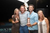 Angeleyes took Best Motor Yacht Award in 2019 BVI Yacht Show