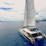 Come aboard BVI Yacht Charter Lady Katlo 62ft Catamaran