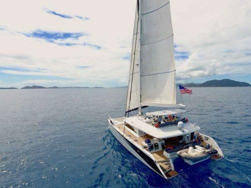 Lady Katlo sailing