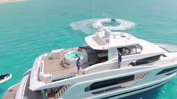 motor yacht for charter in BVI and Caribbean