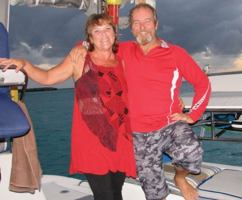 Captain and Crew of Turquoise Turtle 50 ft Catamaran, a 50 ft Voyage Caribbean Yacht Charter
