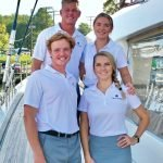 Meet Tellstar 77ft Catamaran's Captain and Crew. Sail the Caribbean aboard this 77ft Lagoon BVI Yacht Charter.