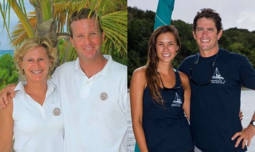 Captain and Crew of Copper Penny 56 ft Catamaran, a 56 ft Lagoon Caribbean Yacht Charter