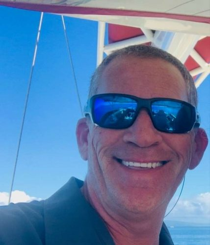 Captain and Crew of Yes Dear, a 58 ft Voyage yacht Caribbean Yacht Charter